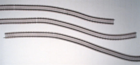 "Micro Engineering 12-105 HO Code 83 36"" Concrete Ties Weathered Flex-Track"