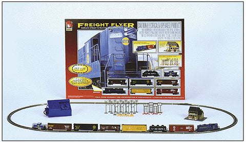 Life Like 7535 N Freight Flyer Trainset