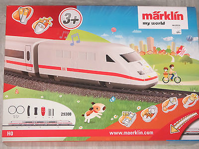 Marklin 29300 HO My World ICE Battery Operated Starter Set with Plastic Track