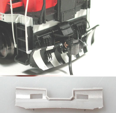 Cal Scale 190-586 HO Snow Plow (Plastic) Fits Canadian National Diesels