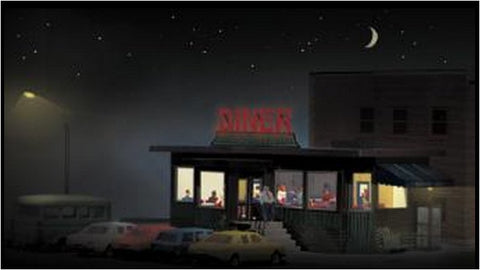 Miller Engineering 160101 N Diner Interior & Lighting Kit