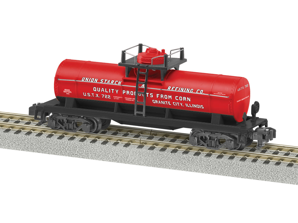 American Flyer 6-48443 S Union Starch Single Dome Tank Car #772