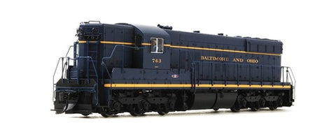 Broadway Limited 5068 HO Baltimore & Ohio EMD SD7 with Sound Blue Line� #763