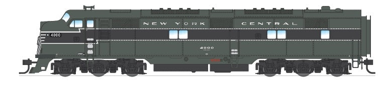 Broadway Limited 3220 N New York Central EMD E7 Powered A-Unpowered B #4000,4100