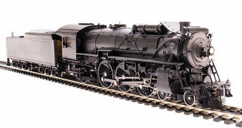 Broadway Limited 1945 HO Unlettered 945 I-4-F 4-6-2 with W-12-C Tender