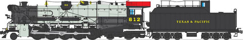 Broadway Limited 2826 HO Texas & Pacific Class I-1a 2-10-4 Texas with Sound #612