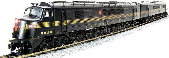 Broadway Limited 3142 N Pennsylvania Railroad Baldwin CentipedeA-A #5828,5816