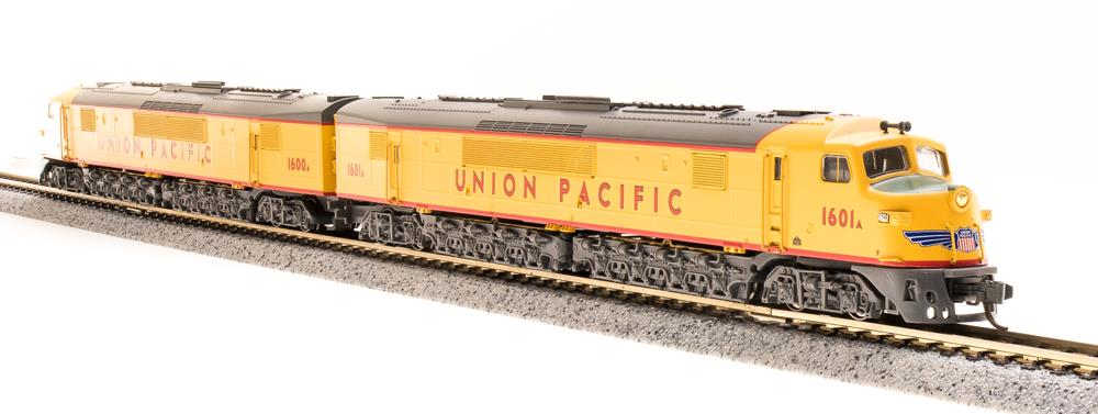Broadway Limited 3152 N Union Pacific Baldwin Centipede A-A Set #1600,1600A