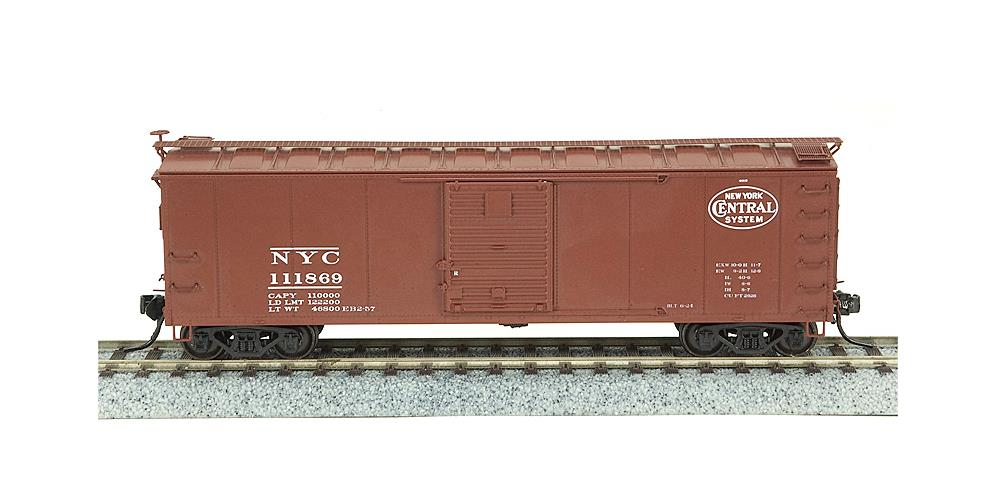 Broadway Limited 3401 N New York Central NYC 40' Steel Boxcar (4)