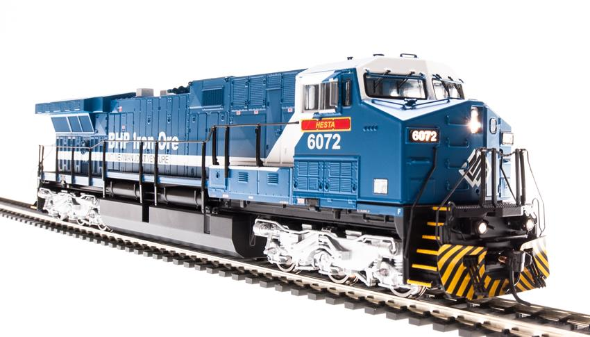 Broadway Limited 4002 HO BHP Iron Ore GE AC6000 with Sound #6072