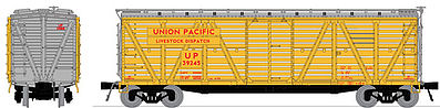 Broadway Limited 4128 HO Union Pacific PRR K7 Stock Car Mule Sounds