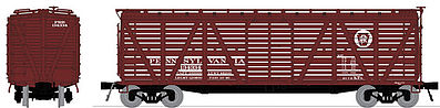 Broadway Limited 4134 HO Pennsylvania Railroad PRR K7 Stock Car (4)