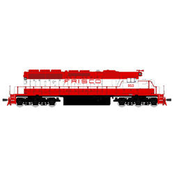 Broadway Limited 4219 HO St. Louis-San Francisco EMD SD40-2 Low-Nose #957
