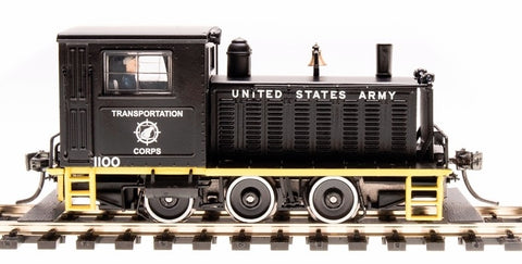 Broadway Limited 6080 HO US Army Transportation Corp Plymouth Switcher #1100
