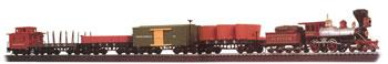 Bachmann 00648 HO Old Tyme Village Freight Train Set