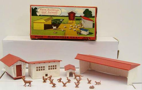 Bachmann 1617 O Farm Buildings Kit