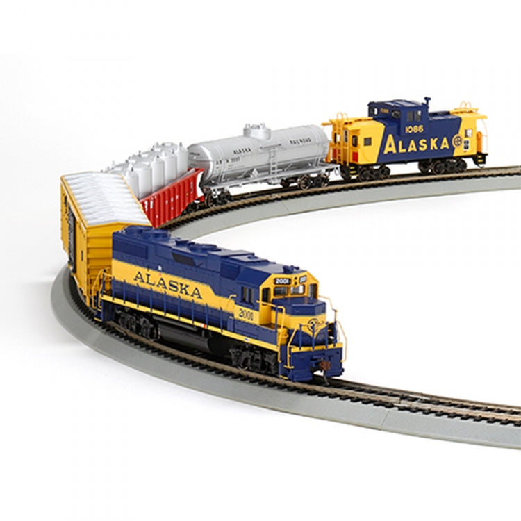 Athearn 29309 HO Alaska GP38-2 Iron Horse Train Set