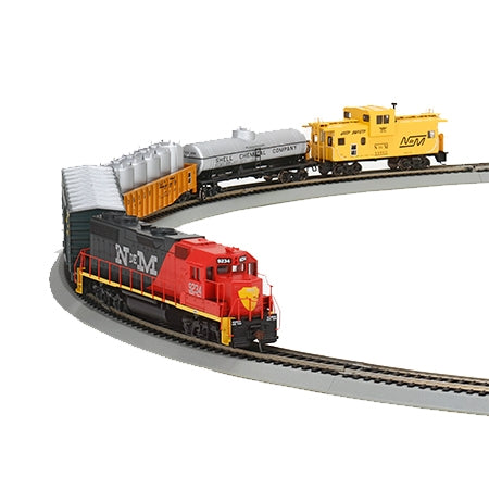 Athearn 29315 HO Ferrocarriles Nacionales de Mexico GP38-2 Iron Horse Train Set