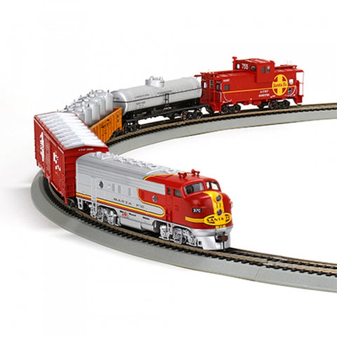 Athearn 29308 HO Santa Fe Warbonnet Train Set