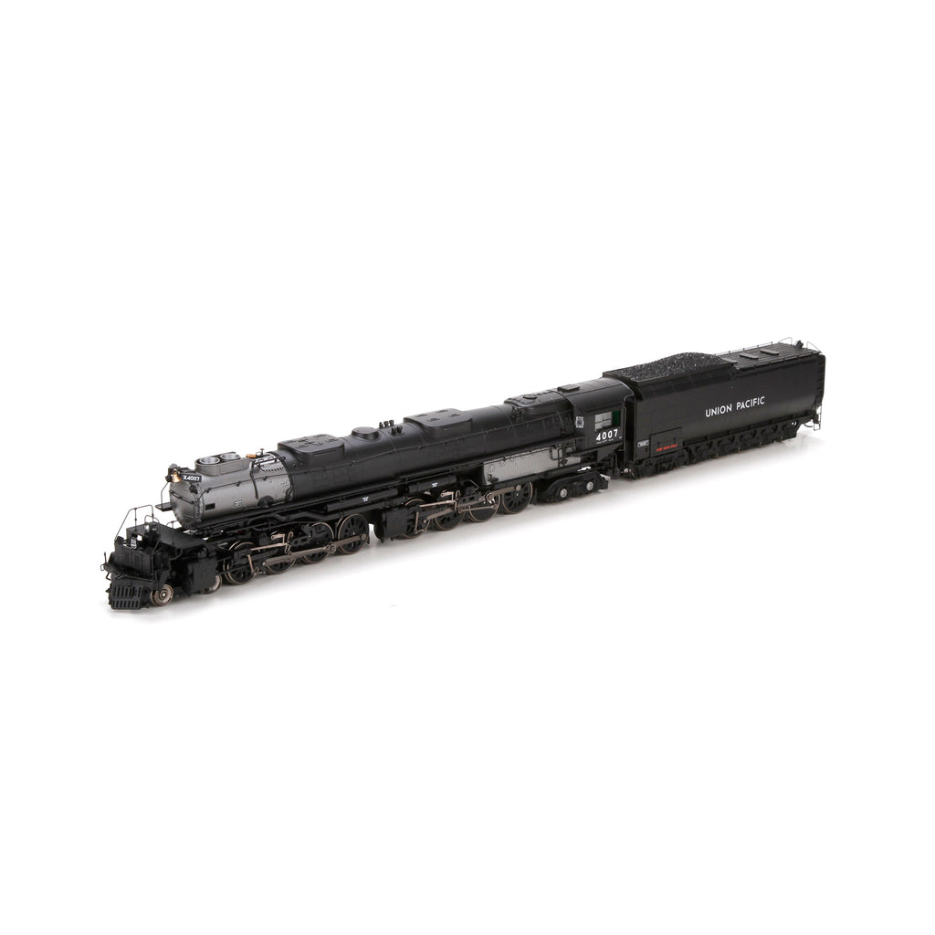 Athearn G97211 HO Union Pacific 4-8-8-4 Big Boy with DCC & Sound Coal Tend #4007