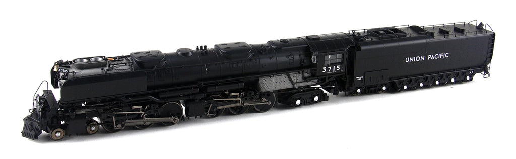 Athearn G97231 HO Union Pacific 4-6-6-4 with DCC & Sound Oil Tender #3715
