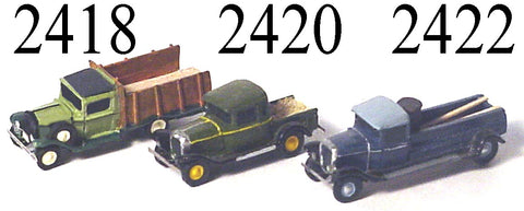 Lineside Models 2420 N 1929 Dodge Pick-Up Truck Plastic Kit
