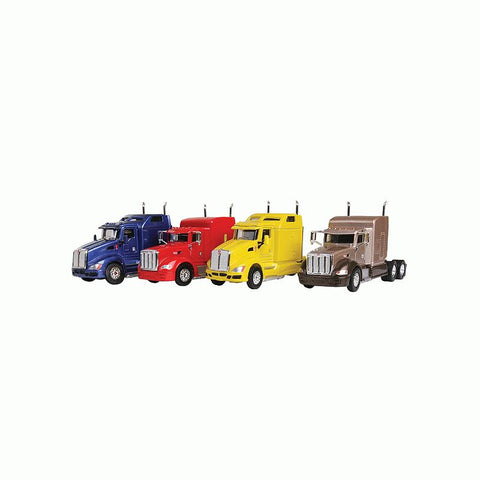 Trucks n Stuff 100123 HO Semi Tractor Super #2 Assembled Peterbilt 386 (4)