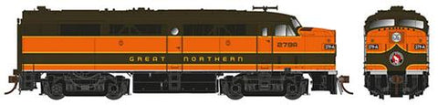 Rapido Trains 21533 HO Great Northern ALCO FPA-2 Diesel Loco Sound/DC/DCC #277B