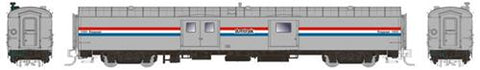 Rapido Trains 506005 N Amtrak 73' Smooth Side Baggage-Express No Number