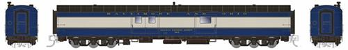 Rapido Trains 506009 N Baltimore & Ohio 73' Smooth Side Baggage-Express #671
