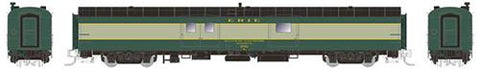 Rapido Trains 506024 N Erie 73' Smooth Side Baggage-Express  #215