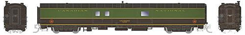 Rapido Trains 506512 N Canadian National 73' Smooth Side Baggage-Express #9229