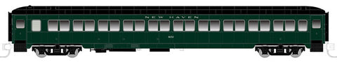 Rapido Trains 509014 N New Haven Lightweight 10-Window Coach No Number