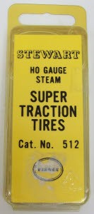Stewart 512 HO Super Traction Tire Assortment Large Steam