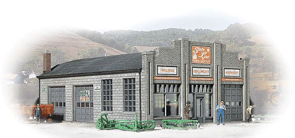 Walthers 933-3808 N State Line Farm Supply Building Kit