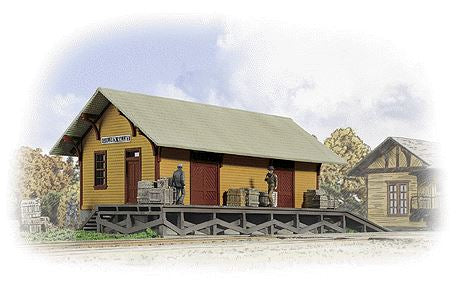 Walthers 933-3533 HO Golden Valley Freight House Kit