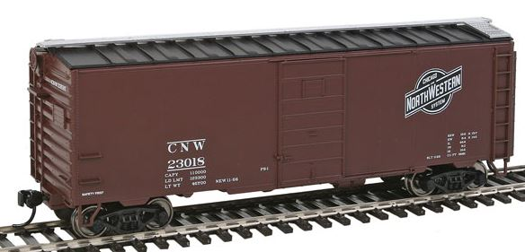 Walthers 910-2351 HO Chicago & North Western™ (Ball & Bar Logo) - 40' PS-1 Boxcar #23018