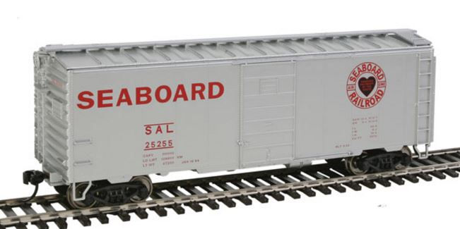 Walthers 910-2359 HO Seaboard Air Line (Heart of the South Logo) - 40' PS-1 Boxcar #25255