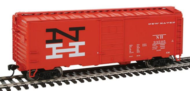 Walthers 910-2353 HO New Haven (Large NH Logo) - 40' PS-1 Boxcar #33505