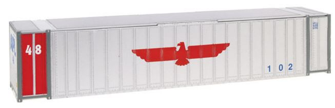 Walthers 949-8458 HO APL 48' Ribbed Side Container