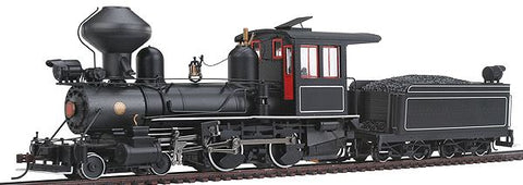 Bachmann 28326 On30 Painted & Unlettered 4-4-0 American Steel Cab w/DCC Loco