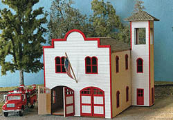 NortheasterN Models 40023 N Springfield Fire Station Kit