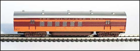 GHQ 2150 N Hiamwatha RPO w/out skirts Passenger Cars Kit 1942