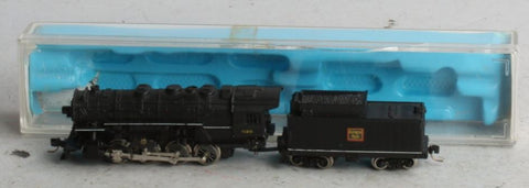 Rivarossi N Scale Burlington Route 0-8-2 Steam Locomotive and Tender