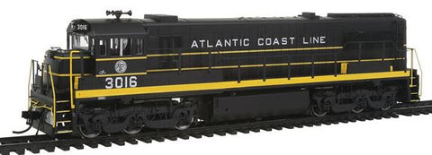 Rivarossi HR2539 HO Atlantic Coast Line GE U25C Diesel Locomotive Sound and DCC