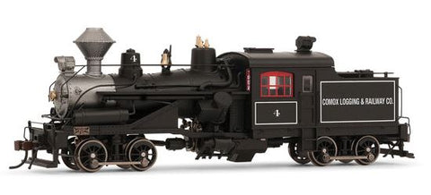 Rivarossi HR2611 HO Comox Logging and Railway Co. 2-Truck Hesler Steam Locomotive Standard DC #4
