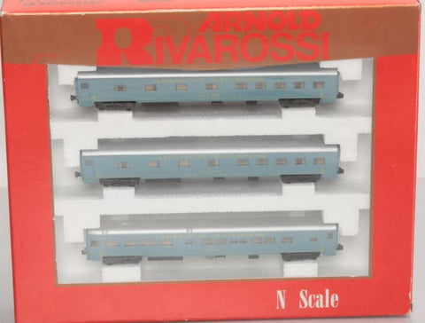 Rivarossi 0582 N American Railroads 3-Car Set