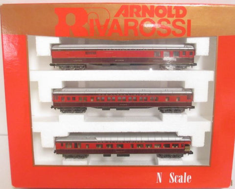 Rivarossi 0547 N Alton Limited 3-Car Passenger Set