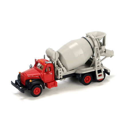 Athearn 12157 N Mack B Cement Truck Red & Black