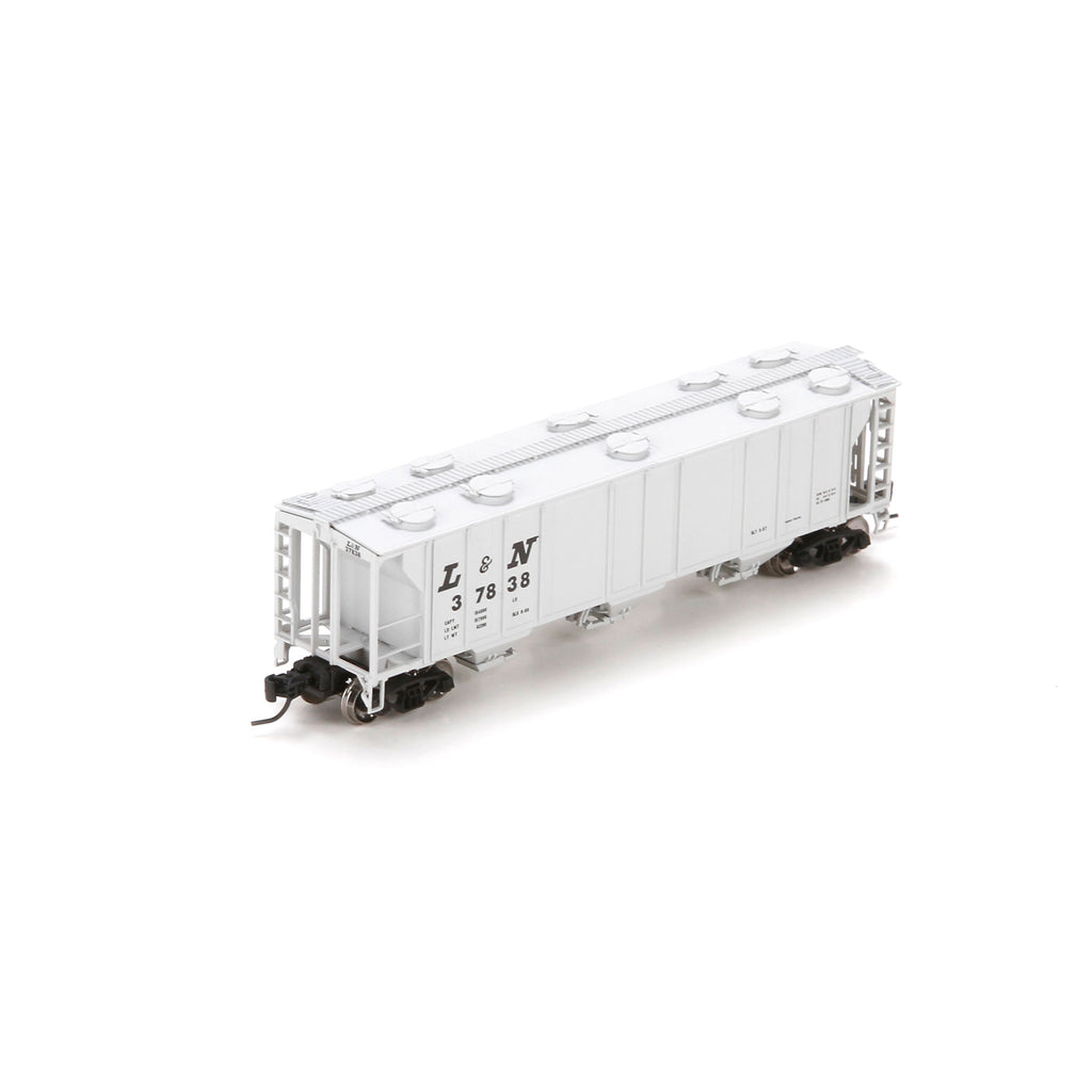 Athearn 23865 N Louisville and Nashville PS-2 2893 3-Bay Covered Hopper #37838